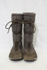 ALLROUNDER Mephisto High Shaft Winter Boots, Brown, Womens Size 6, WATERPROOF