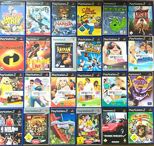1 SPIEL AUS AUSWAHL WÄHLEN (z.B. Singstar, Kinderspiele) für die Playstation 2