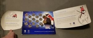 2010 Vancouver Olympics Coin Set Canadian Mint condition circulated