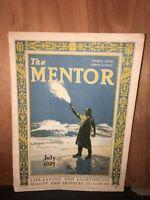 THE MENTOR Magazine July 1925 Light Houses Winslow Homer
