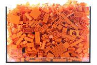 Gebrauchtes LEGO 1 kg orangene Bausteine Sammlung Konvolut