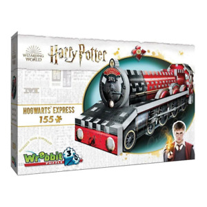 Wrebbit 3D Hogwarts Express Mini 155 Piece Jigsaw Puzzle NEW