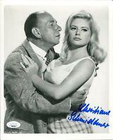 Christiane Schmidtmer Ship of Fools Playboy Model Signed Autograph Photo JSA