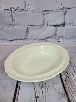 """Wedgwood Queen's Ware Queen's Plain Oval Vegetable Serving Bowl 9 3/4"""""""