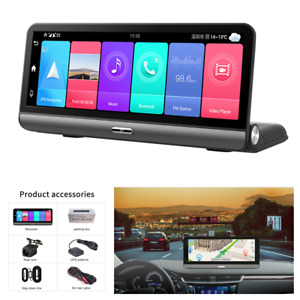 Android 8.1 FHD Car DVR Dash Cam Video Recorder Dual Camera GPS WIFI 4G G-sensor