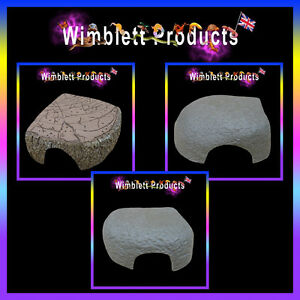 Reptile Hides  For Small Hatchling & Baby Reptiles, Geckos, Spiders, Snakes