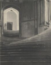 """Frederick Evans, """"Sea of Steps, 1903"""", gelatin silver photograph on matte paper"""