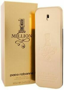1 Million by Paco Rabanne  3.4 oz Cologne for Men New In Box