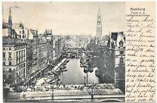alte Ak Hamburg, Fleet bei der Catharinenstrasse, gelaufen 1905