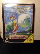 Awesome Golf  (Lynx, 1990)Atari New Damaged Box
