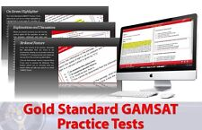 GAMSAT Practice Tests with Detailed Solutions (GAMSAT Sample Questions) SAVE $45