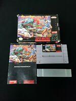 1991 Street Fighter II 2 SNES Super Nintendo Complete In Box CIB Game w/Manual!