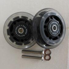 Large PU Easy Ezwheels Easy Wheels with BEARINGS for Brompton (Multi-S)