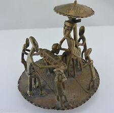 Africaine Art-décoratif bronze personnage/travail manuel