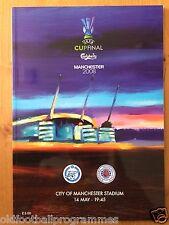 2008 UEFA CUP FINAL *(GLASGOW RANGERS V ZENIT ST PETERSBURG)* (14/05/2008)