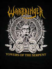 WARBRINGER-TOWERS OF THE SERPENT-T-SHIRT-XX-LARGE-HARD TO FIND