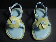 LANDS END Girls Toddler Sandals Dress Shoes Blue NEW  8