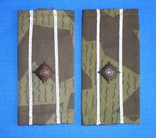 Bulgarian Army Air Force MAJOR Officer SHOULDER Rank Camouflage SLIDES