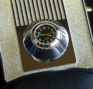 New British Made Harley Road King Billet Console Clock