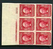 Scott #320c Washington Mint Plate Block Durland $750 CV