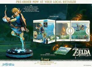 The Legend Of Zelda Breath of The Wild First4figure Collector's Edition