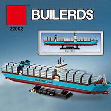 Creator MAERSK LINE TRIPLE-E Container Ship Building Toys Blocks