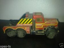 Old Collectible Buddy L Kenworth Tow Friction Truck Toy, Made In Japan