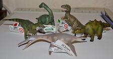 CollectA Lot (6) Hererrasaurus,T-Rex Baby,Dolichorhynchops,Steg Baby,Brachi Baby