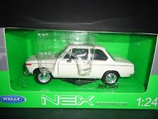 Welly BMW 2002ti White 1/24