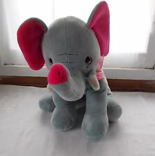 Big Plush Elephant Stuffed Animal 17""