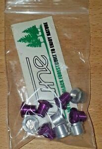 Tune 5 Chainring Bolts + 5 Nuts K2 +3 Retro NOS Nip Purple Rare