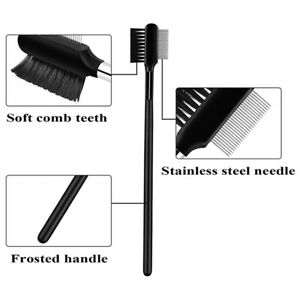2xPet Eye Comb Brush Pet Tear Stain Remover Comb Eye Grooming Brush Double-Side~