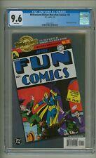 Millennium Edition: More Fun Comics 73 (CGC 9.6) White pages; DC; 2001 (c#24873)