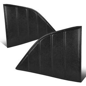 Fit 08-19 Dodge Challenger Quarter Side Window Louvers Scoops Sun Shade Cover