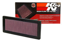33-2936 K&N Air Filter fits Peugeot 208 308 GTi RCZ DS3 DS4 DS5 & Mini Cooper S