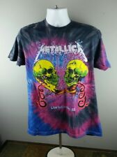 Metallica Skull Live in Concert 92 Mens Large Rock T Shirt
