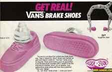 New Koolstop Vans brake pads shoes Bmx old school Vintage Haro PK Ripper L Pink