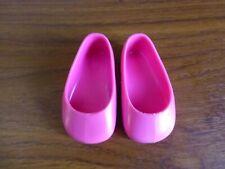 Famosa original Nancy large doll pink shoes about 8 cm long