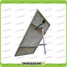 Supporto fissaggio testapalo pannello solare fotovoltaico 190W 250W 300W fisso 4