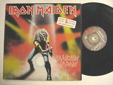 "IRON MAIDEN ""MAIDEN JAPAN"" - 12"" MAXI SINGLE - CANADA PRESSING - 5 SONGS"