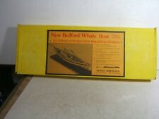 Model Shipways 1/16 New Bedford Whaling Ship Whale Boat Wood & Metal Model Kit