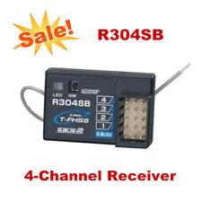 R304SB FHSS 4 Channel Telemetry Receiver 2.4GHz for Futaba 4PLS 4PX RC Car Parts