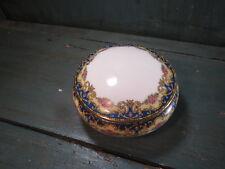 Boite ancienne porcelaine limoges france picard france bijoux bonbon
