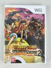 Nintendo Wii One Piece Unlimited Cruise 2, UK Pal, Brand New & Factory Sealed