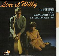 LINE ET WILLY IL PLEUT FRENCH ORIG EP BERNARD GERARD