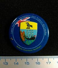 British Territory Pin SAINT HELENA ASCENSION Badge Litho Métal 100 PIECES ONLY