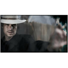Justified Timothy Olyphant as Raylan Givens Aiming Serious 8 x 10 Inch Photo
