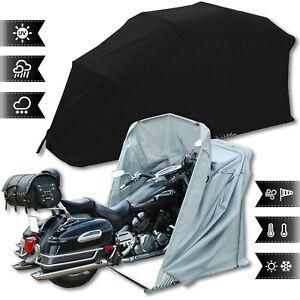 Motorradgarage Motorrad Garage Schutzplane Zelt Grösse: XL Farbe: Schwarz NEU