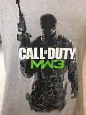 Call of Duty MW3 modern warfare 3 Tshirt Men's small S Gray cotton blend B3