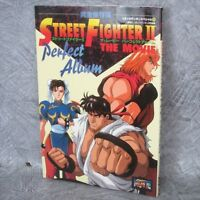 STREET FIGHTER II 2 Movie Perfect Album w/Poster Art Material Fanbook Book KO5x*
